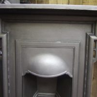Simple Edwardian Cast Iron Bedroom Fireplace 189B Oldfireplaces