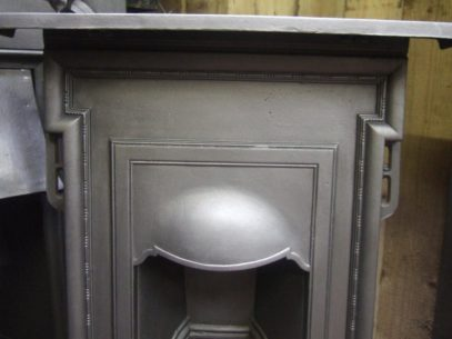 Simple Edwardian Cast Iron Bedroom Fireplace 189B Oldfireplaces