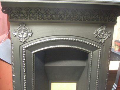 195MC - Original Victorian Cast Iron Fireplace