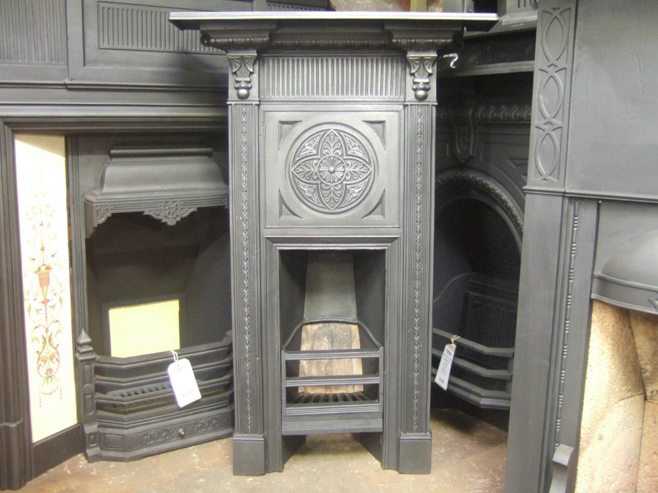 victorian thomas jeckyll style bedroom fireplace 216b old