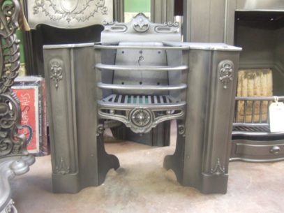 227H - Early Victorian Cast Iron  Hobgrate
