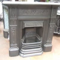 237LC - Victorian Cast Iron Combination Fireplace