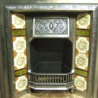 271TI - Polished Victorian Fireplace Insert