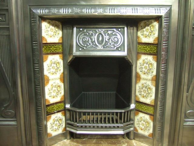 Polished Victorian Fireplace Insert 271ti Old Fireplaces