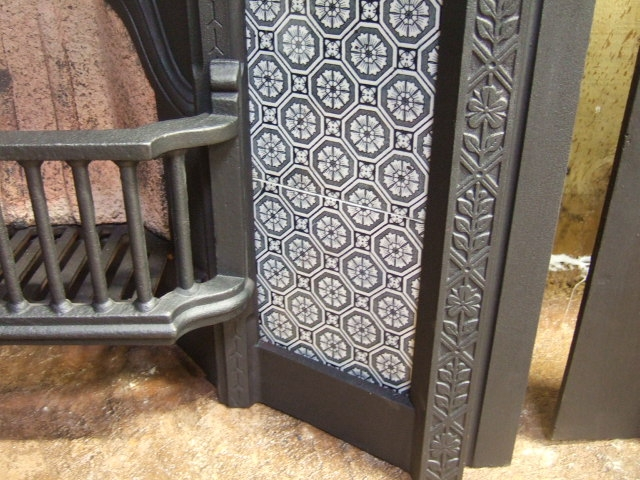 Victorian Tiled Insert Fireplace 273ti Old Fireplaces