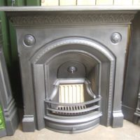 277LC - Gothic Victorian Fireplace