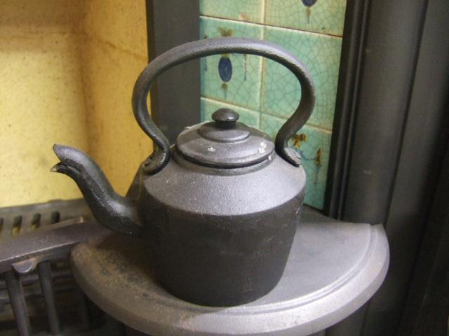 Cast Iron Kettle Old Fireplaces