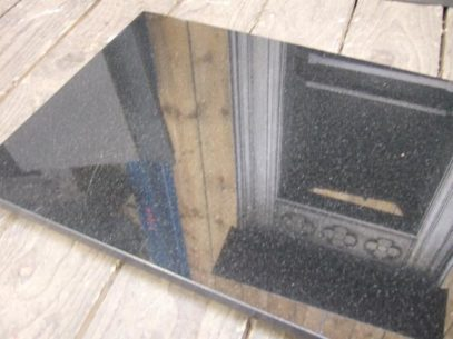 Polished Granite Hearth - one piece