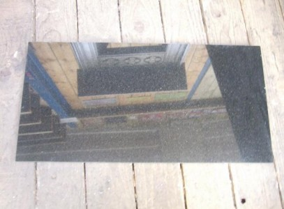 Polished Granite Hearth - one piece