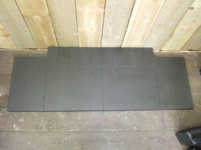 Matt Granite Hearth - slabbed