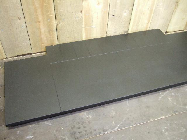 H001 - Matt Granite Hearth - slabbed - Old Fireplaces