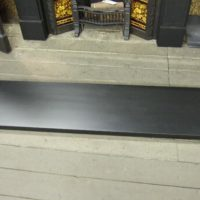 Slate Hearth - one piece