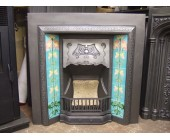 Antique Tiled Fireplace Inserts