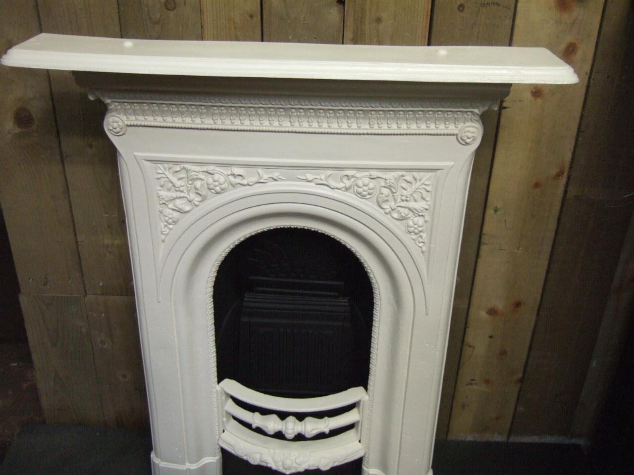 Victorian Cast Iron Bedroom Fireplace 140b Old Fireplaces