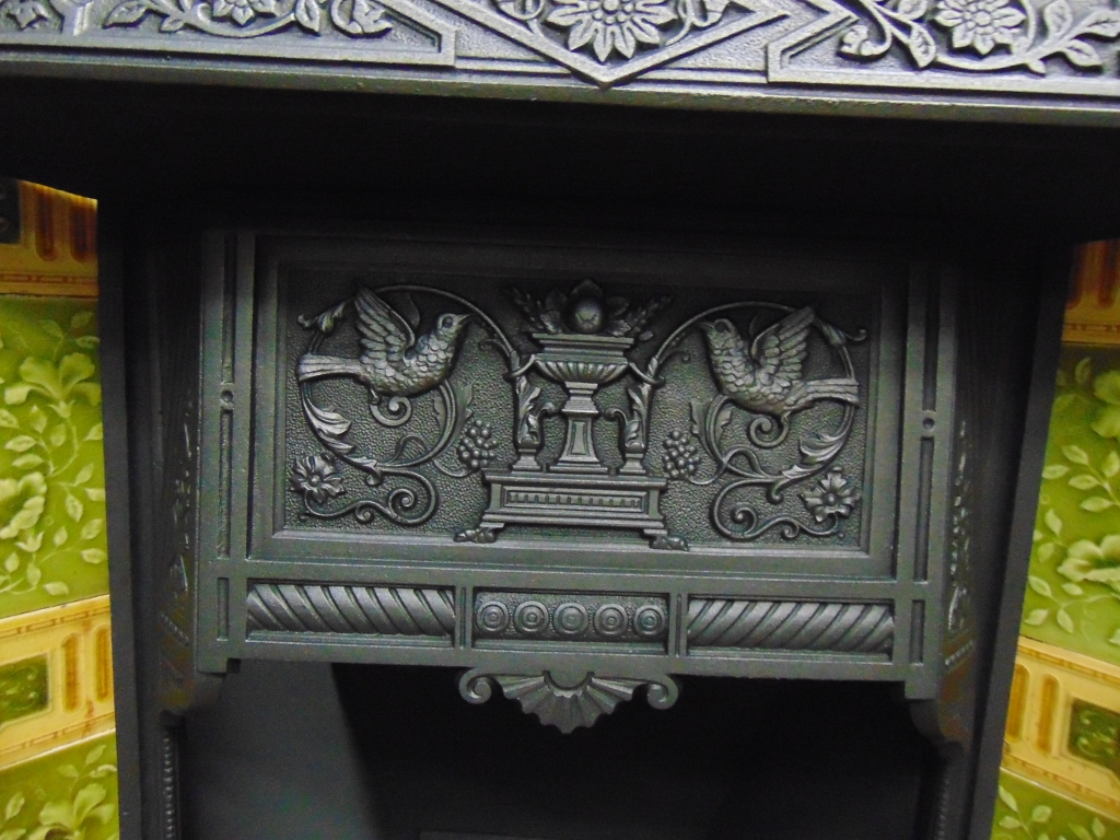 Victorian Tiled Fireplace Insert 176ti 1618 Old Fireplaces