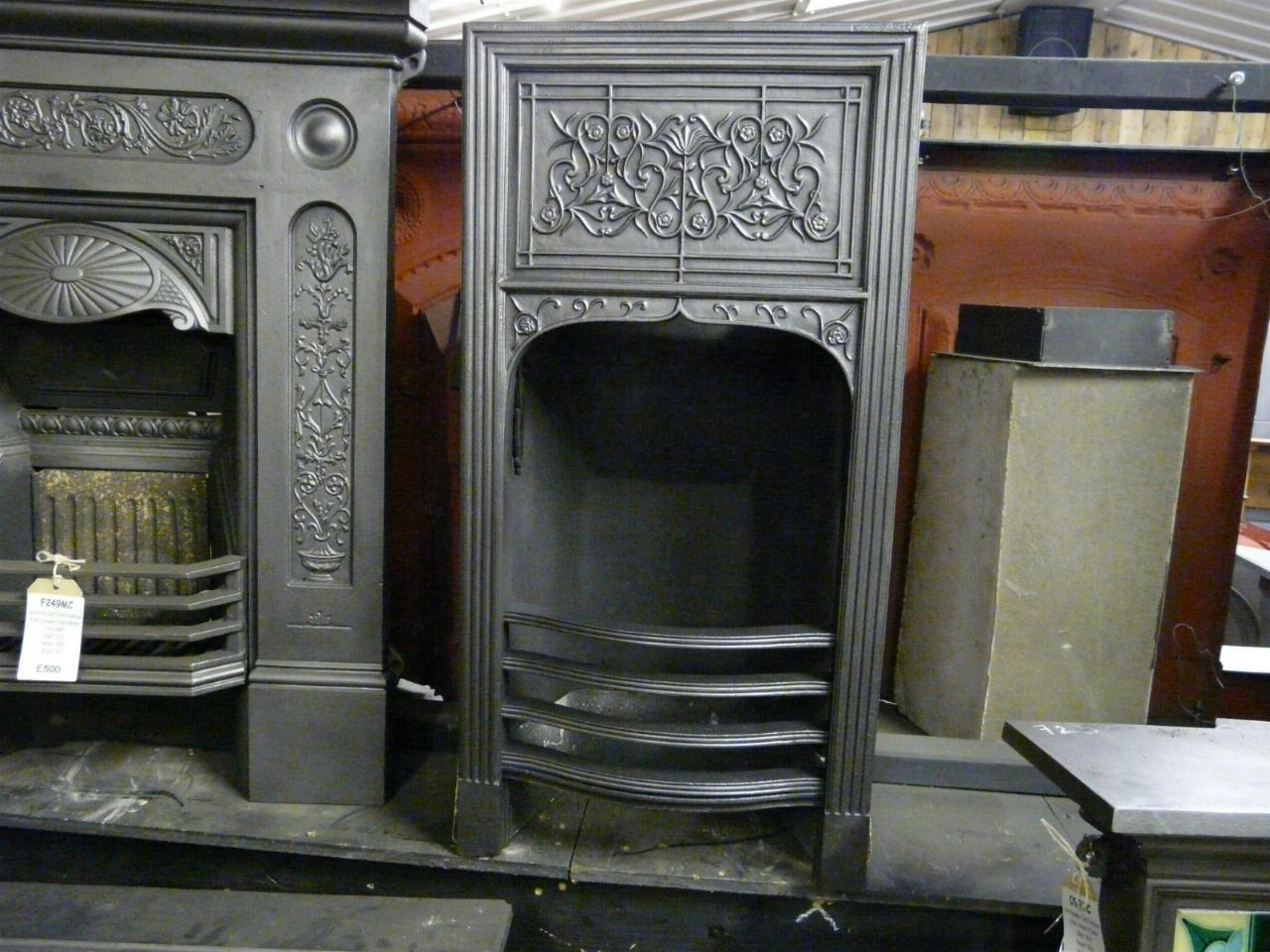 Cast Iron Fireplace Insert 128i Old Fireplaces