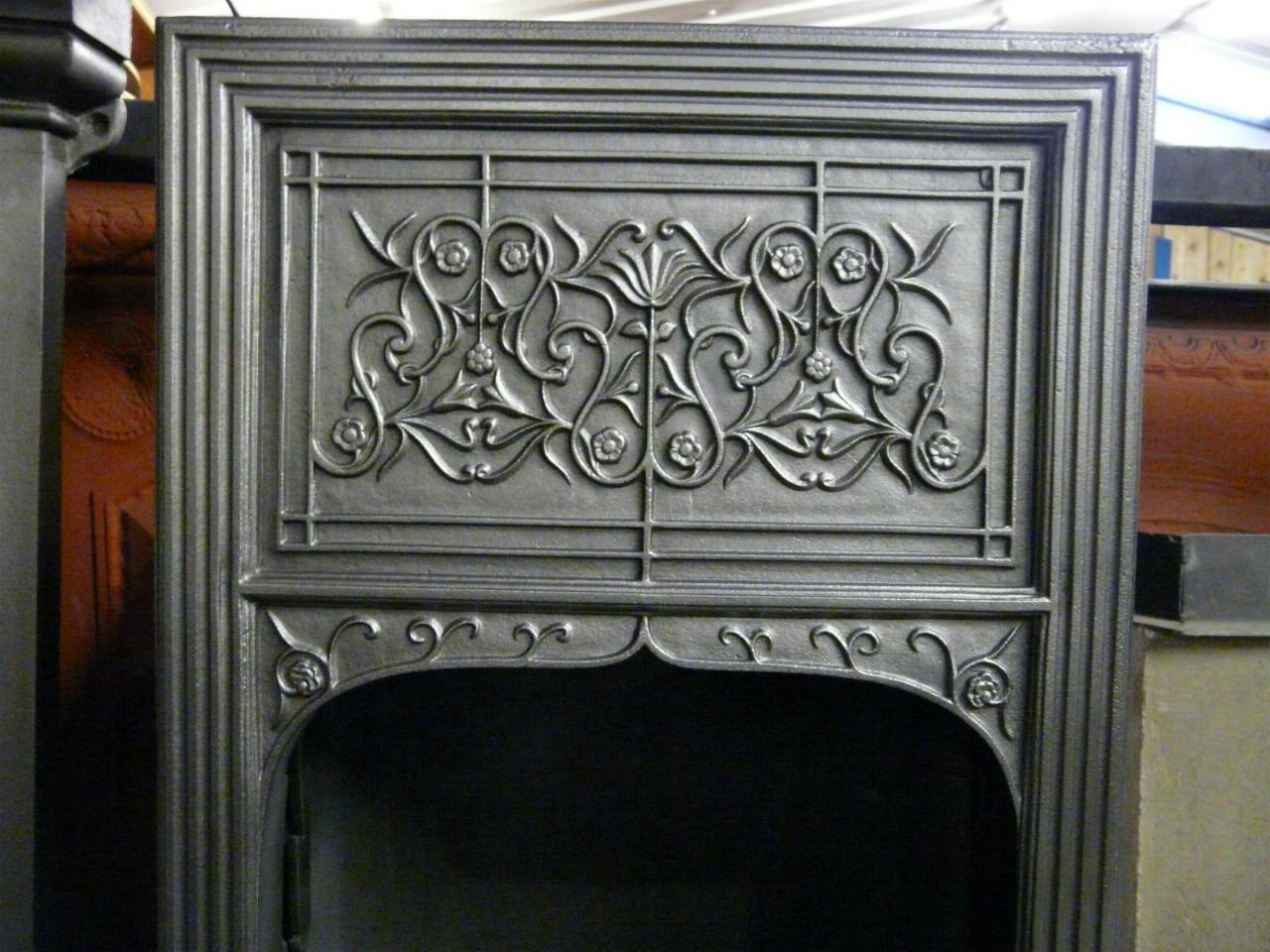 Cast Iron Fireplace Insert 128i Antique Fireplace Co