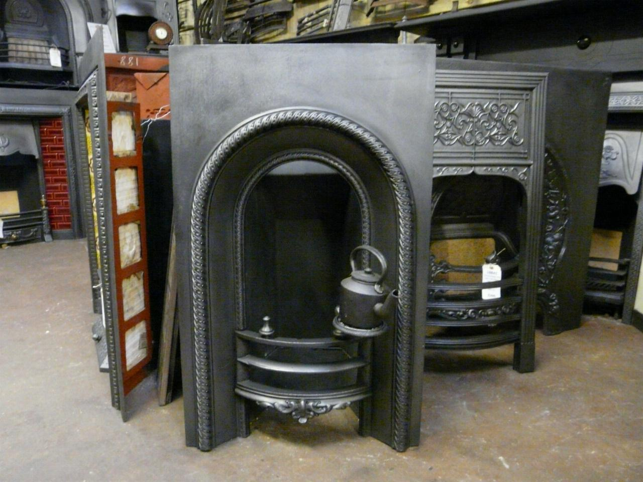 Victorian Arched Bedroom Fireplace Insert 135ai Old