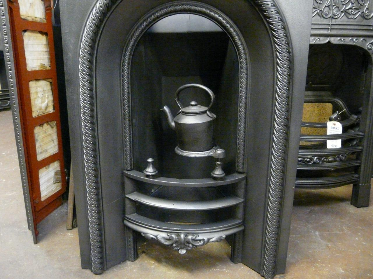 Victorian Arched Bedroom Fireplace Insert 135ai Old Fireplaces