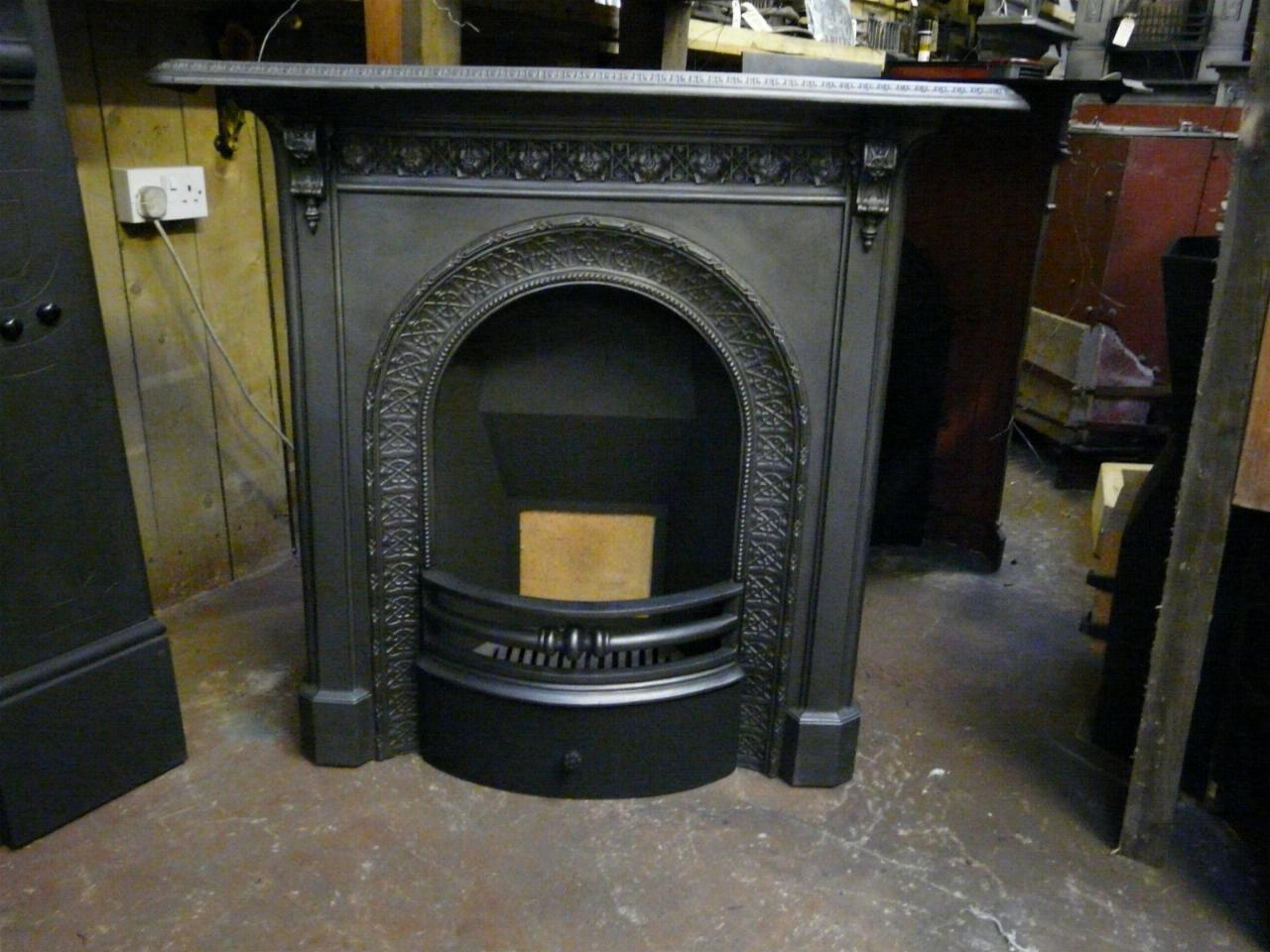 Victorian Cast Iron Fireplace 150mc Old Fireplaces