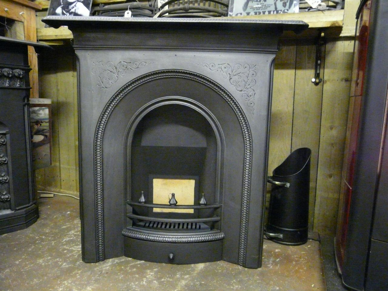 Victorian Arched Combination Fireplace 122mc Old Fireplaces
