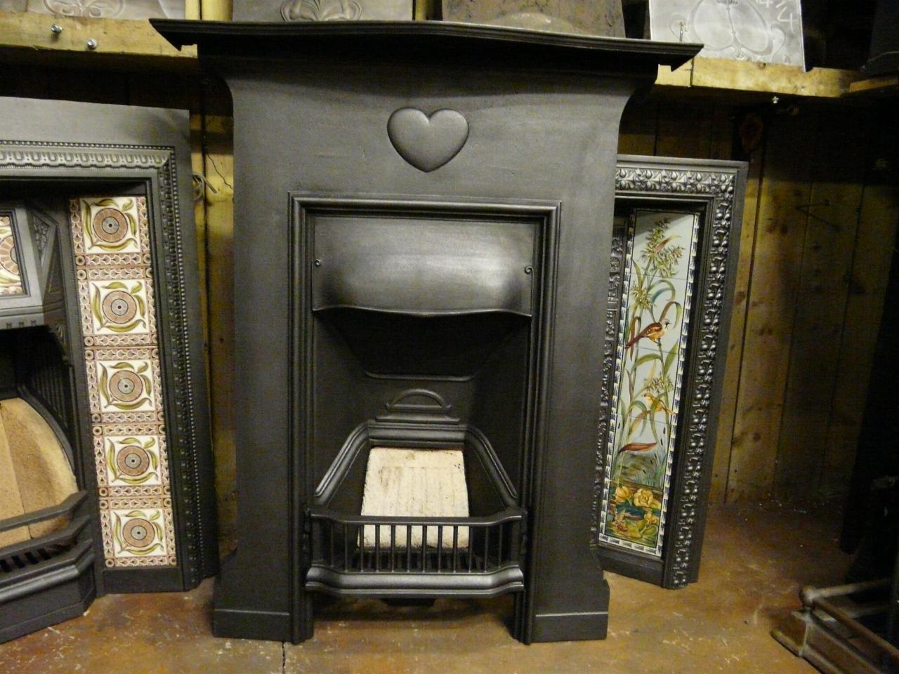 arts u0026 crafts cast iron fireplace 198mc old fireplaces