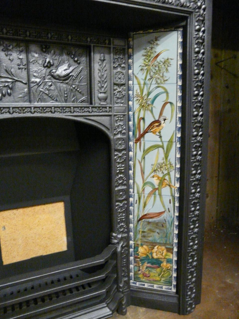 Reproduction Fireplace Tiles - R029 - Old Fireplaces