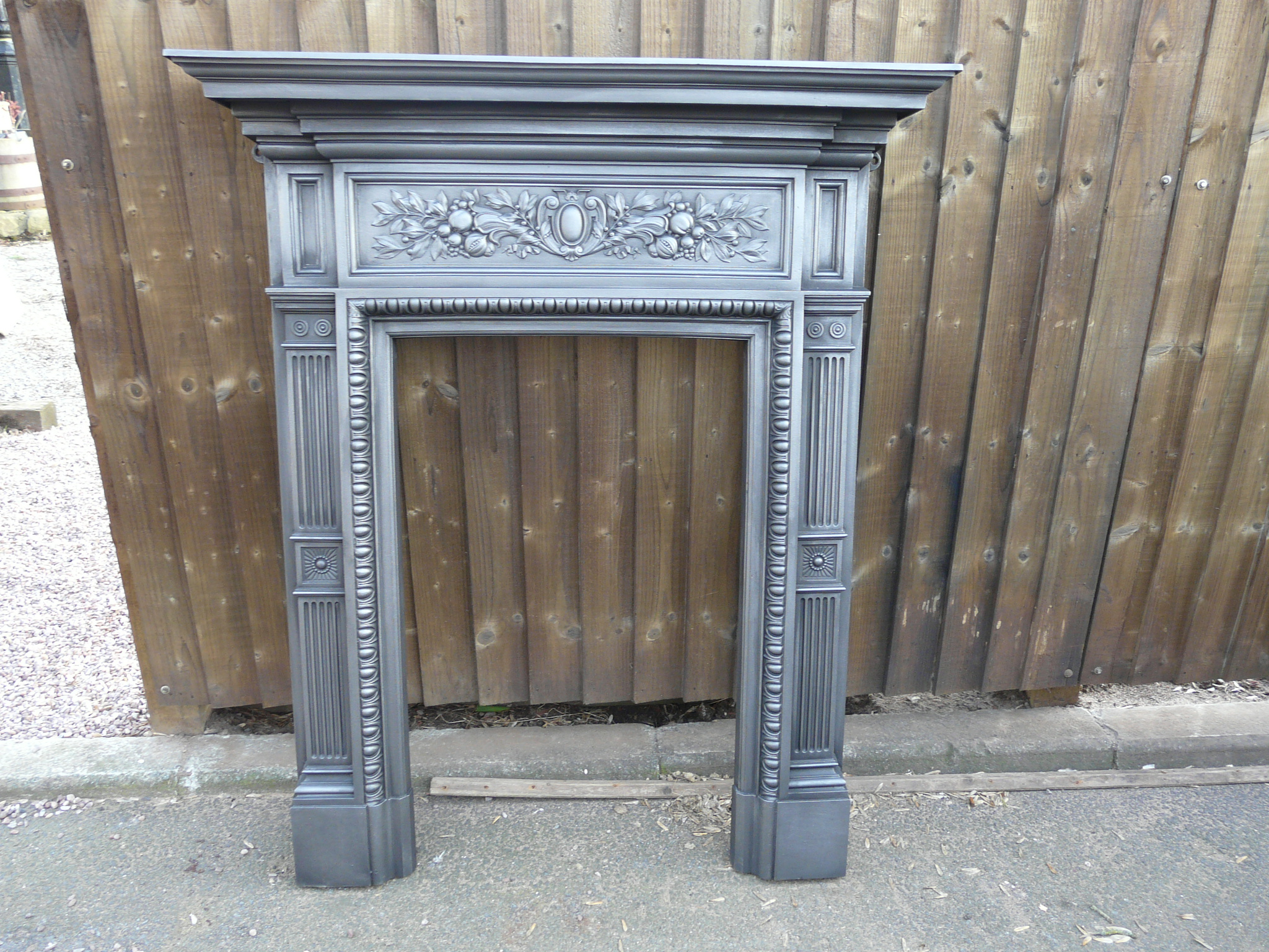 victorian cast iron fire surround 157cs old fireplaces