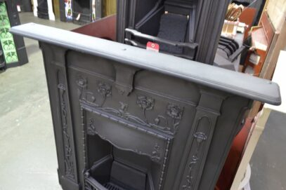 Original Art Nouveau Fireplace 4090LC - Oldfireplaces