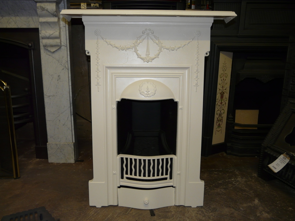 Original victorian edwardian bedroom fireplace 001b for Bedroom electric fireplace