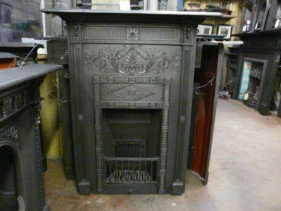 077-214 Victorian Cast Iron Fireplace