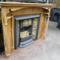 Arts & Crafts Fire Surround - 015WS