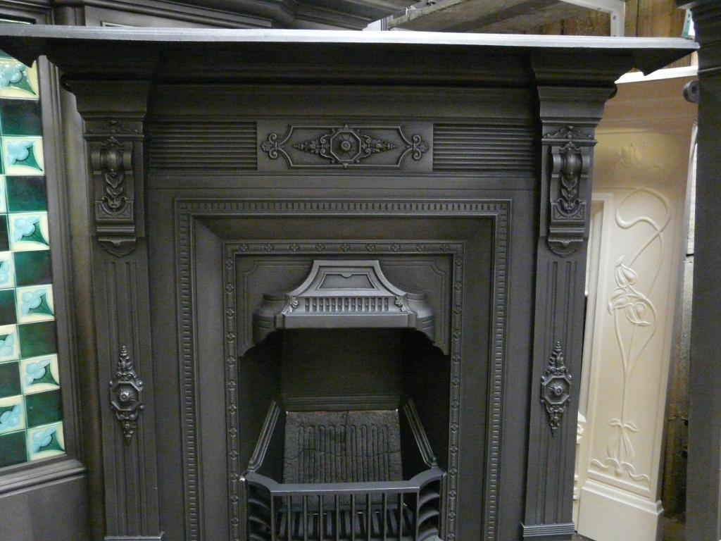 Victorian Cast Iron Fireplace Manchester 074lc Old