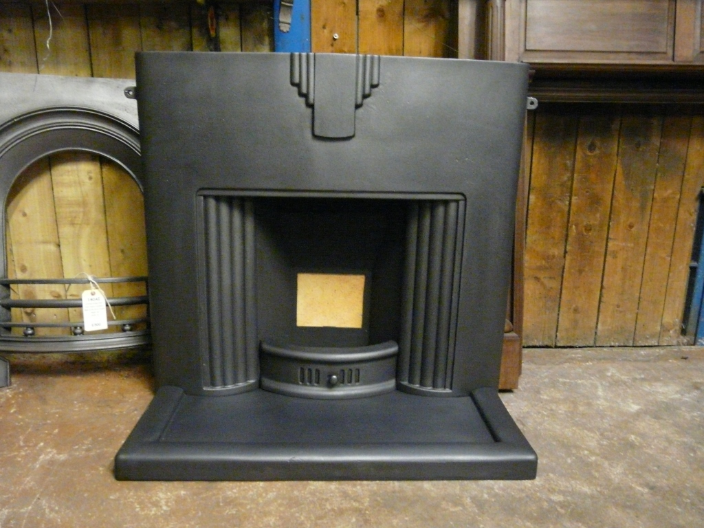 Art Deco Fireplace 104lc Antique Fireplace Co