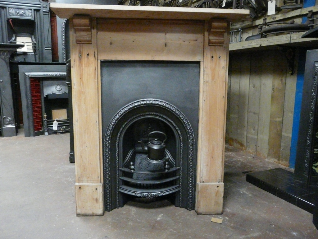 victorian bedroom insert 283ai old fireplaces