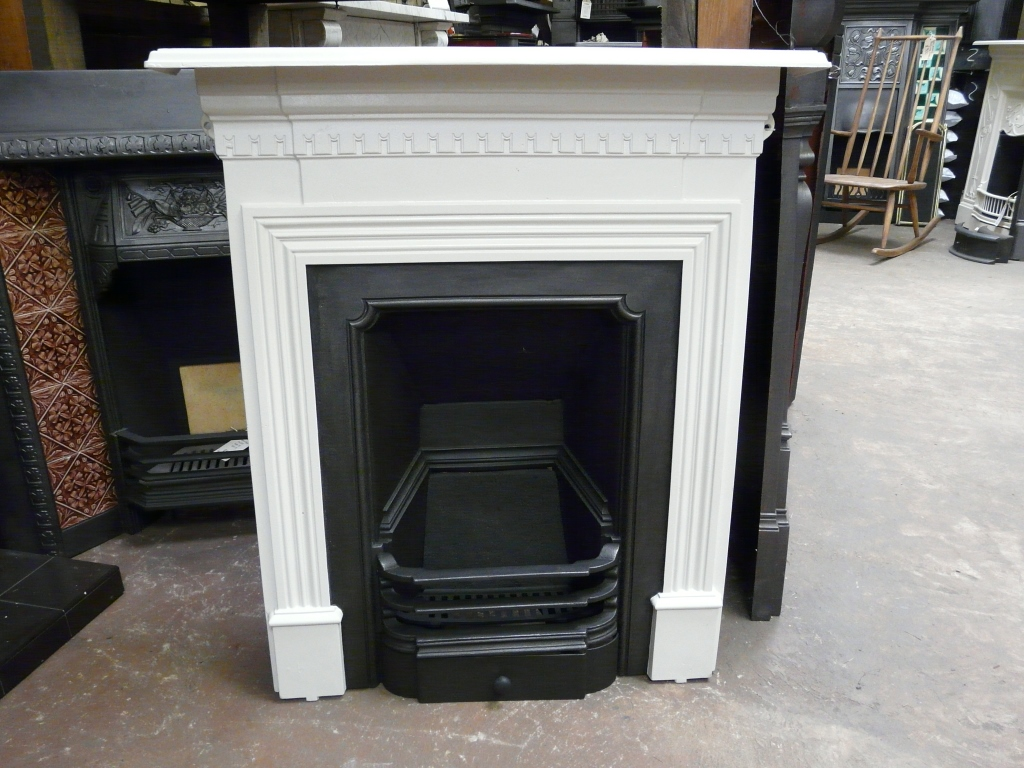 Late Victorian Cast Iron Fireplace Manchester 292mc