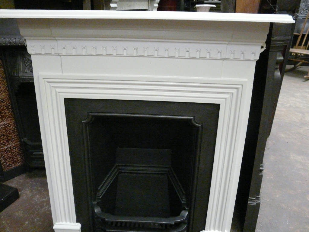 Late-Victorian Cast Iron Fireplace - Manchester - 292MC ...
