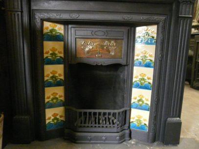 120TI_1037_Art_Nouveau_Tiled_Fireplace_Insert