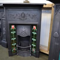 Edwardian Tiled Fireplace 1087TC - Antique Fireplace Company