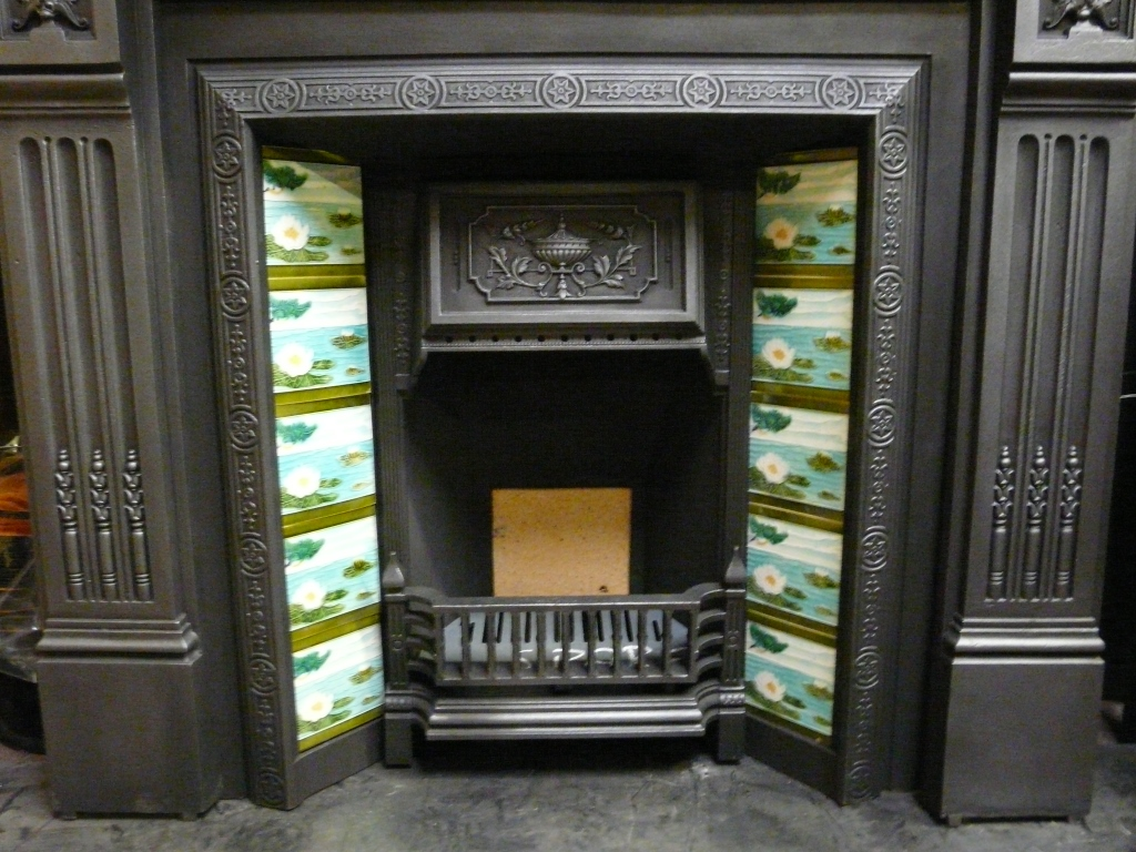 Victorian Tiled Fireplace Insert 236ti 1056 Old Fireplaces