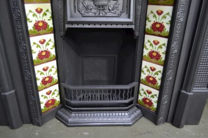 Victorian Tiled Fireplace Insert 3026TI - Oldfireplaces