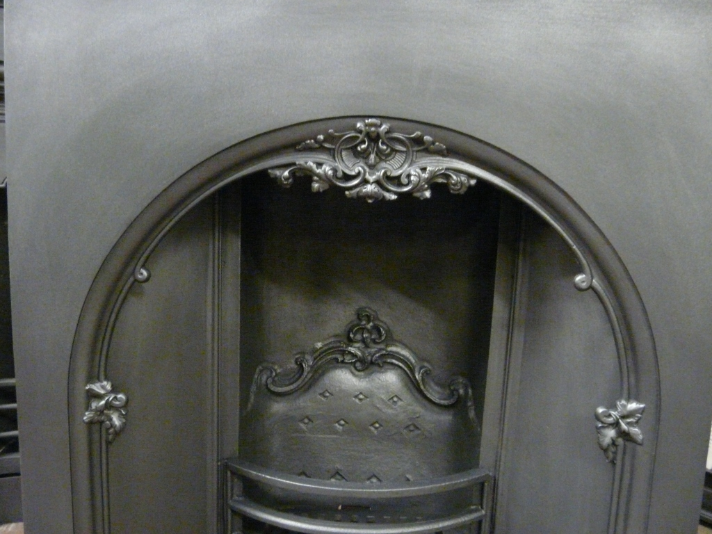 Victorian Arched Fire Grate 124ai 1121 Old Fireplaces
