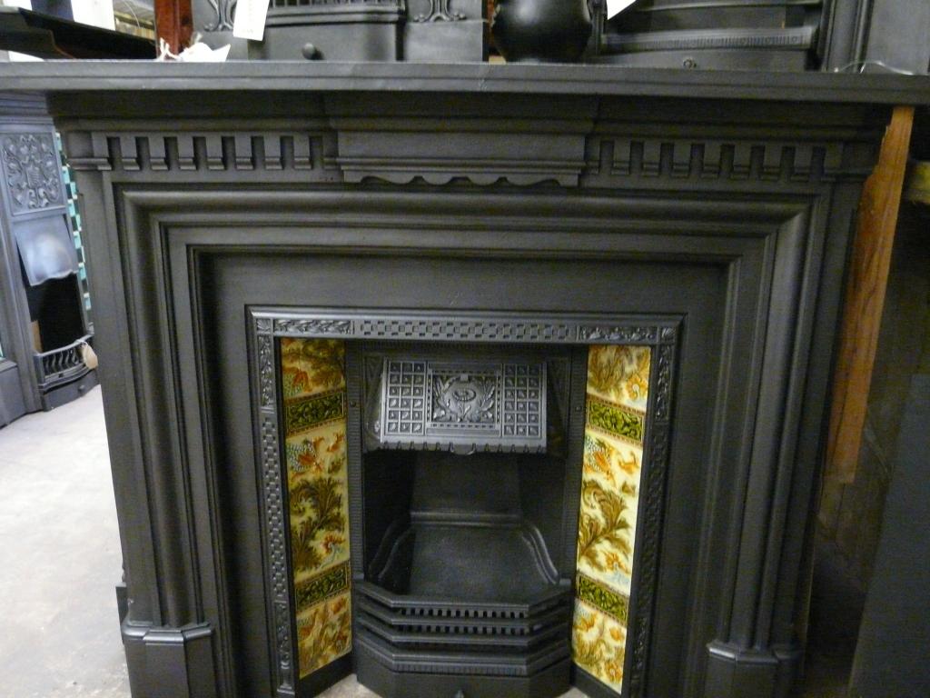 Late Victorian Cast Iron Fire Surround