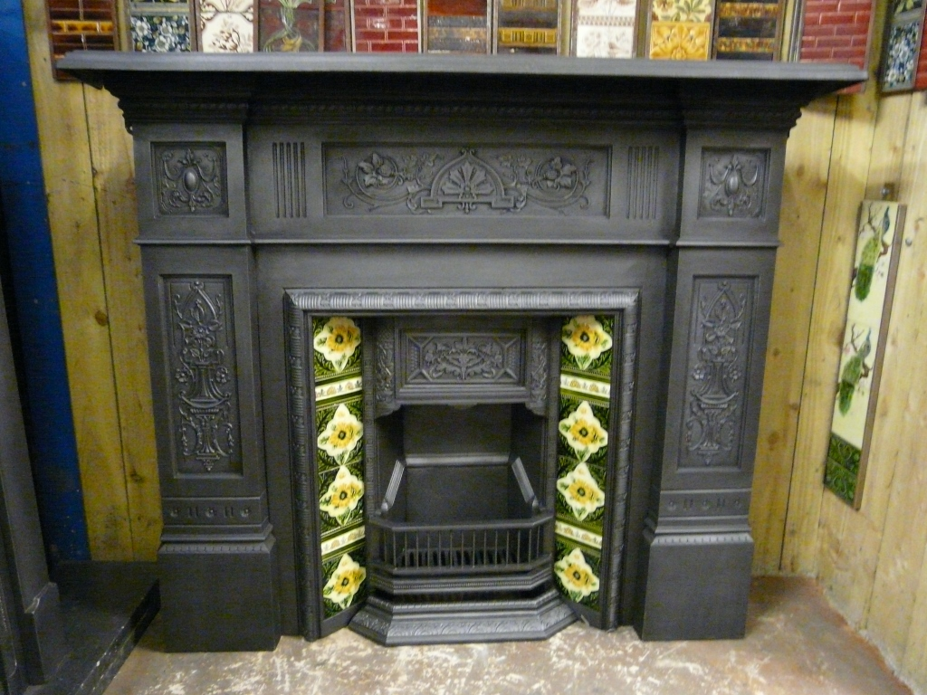Victorian fire surround 157cs 1090 old fireplaces Victorian fireplace restoration