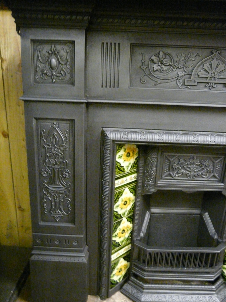 Victorian fire surround 157cs 1090 old fireplaces for Victorian corner fireplace