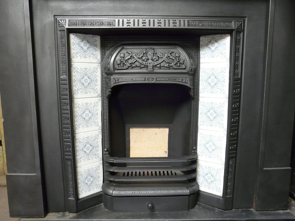 Victorian Tiled Fireplace Insert 162ti 1102 Old Fireplaces