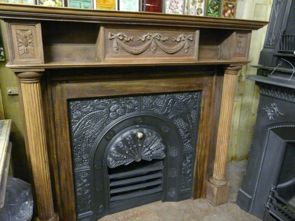 Antique Victorian Fire Surround - 250WS-1132 - Old Fireplaces