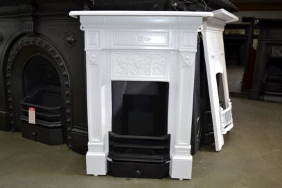 Victorian Cast Iron Fireplace Painted 4072B - Oldfireplaces