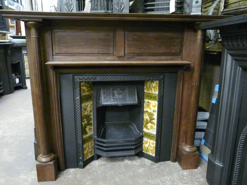 Victorian Hardwood Fire Surround 285ws 1174 Antique Fireplace Co