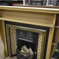 Arts & Crafts Pine Fire Surround 1077WS Old Fireplaces